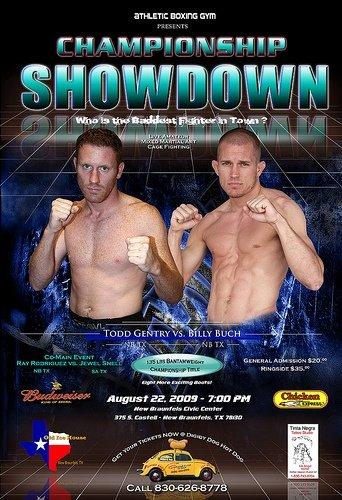 aug 22 Todd Gentry vs Billy Buch